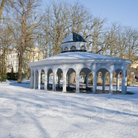 Pavillon der Luisenquelle - Winter